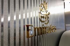 Im A380 von Emirates